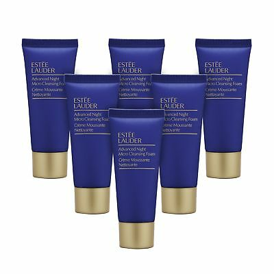 6 x Estee Lauder Advanced Night Micro Cleansing Foam 30ml Face Wash Cleanser