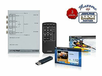 ALPINE KCE-635UB INTERFACCIA VIDEO x USB UNIVERSALE GARANZIA 3 ANNI +TELECOMANDO