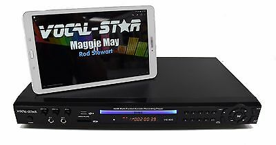 Vocal-Star Vs-800 Cdg Dvd Hdmi Karaoke Machine Player Sd Usb Aux Connection