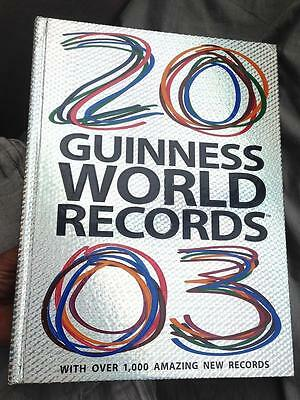 Guinness World Records 2003 Silver Hard Cover Astonishing Facts Amazing Records
