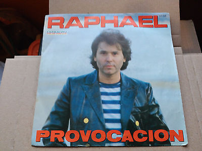 Single Rafael - Provocacion - Hispavox Spain 1983 Vg+