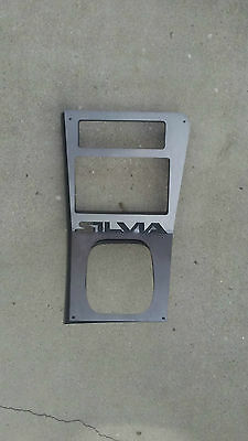 Nissan 240SX S13 (1989-1993) Whole Middle Panel Plate: Silvia Double Din
