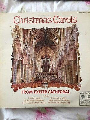 Christmas Carols From Exeter Cathedral Mfp Stereo 1321 Vinyl Lp