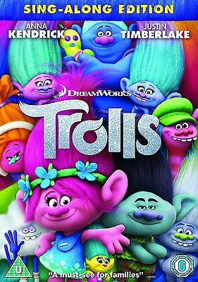 Trolls DVD, New and sealed, With free delivery.