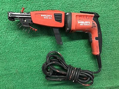 Hilti Sd 4500 Drywall Screw Gun & Smd 50 Fast Loader Attachment