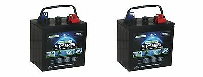 Pair of 2 x 6 Volt Powabloc T105 Deep Cycle Battery (FFP6210)