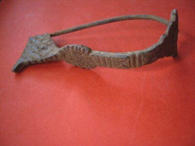 Roman-Celtic Iron Fibula