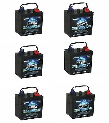 6 x 6 Volt Powabloc T125 270 AH Traction Battery (FFP6240)