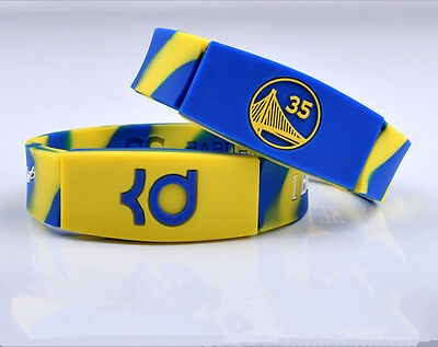 Kevin Durant men'sbasketball star silicone wrist band bracelet Sports wristband