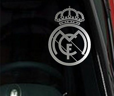 Spain Soccer Decal Sticker Vehicle Window Laptop Wall Real Madrid C.F