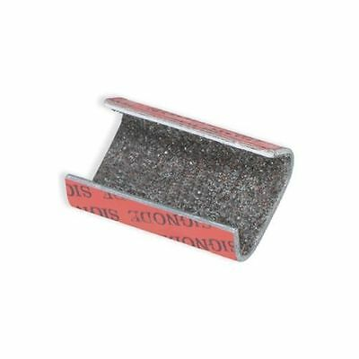 "Signode Sandpaper Snap On Metal Poly Strapping Seals, 1/2"" 1000/Case"