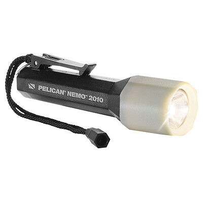 Pelican NEMO 2010 LED Underwater Flashlight  - Black