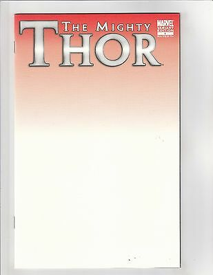 The Mighty Thor (2011) #1 NM- 9.2 Blank Sketch Variant Marvel Comics