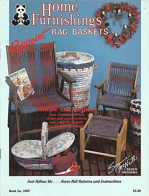Home Furnishings & Rag Baskets Chair Stool Rugpoint Simple Coil Susanne McNeill