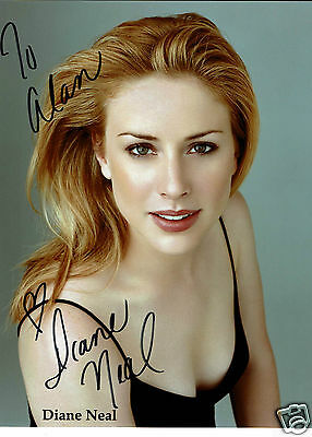 Diane Neal Actress Law & Order Hand Signed  Photograph 10 x 8
