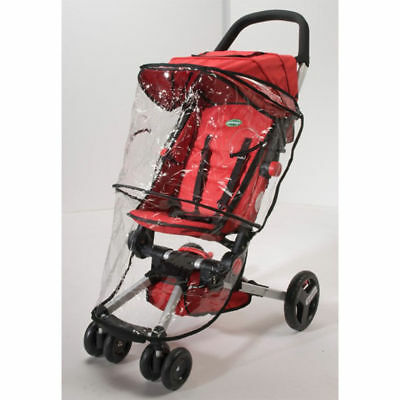 Quick Smart Stroller Weather Shield/Protector/Wind Cover Transparent/Foldable