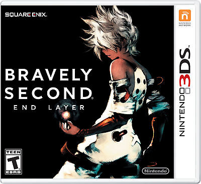 Bravely Second: End Layer (Nintendo 3DS, 2016) New Low Price
