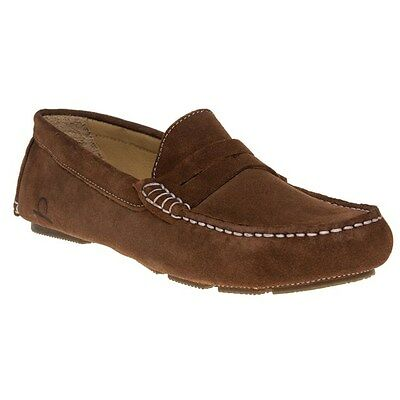 New Mens Chatham Marine Brown Escape Leather Shoes Driving Slip On