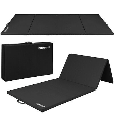PROIRON Non-slip Thick Folding Exercise Gym Mat 4-folded Gymnastic Mats
