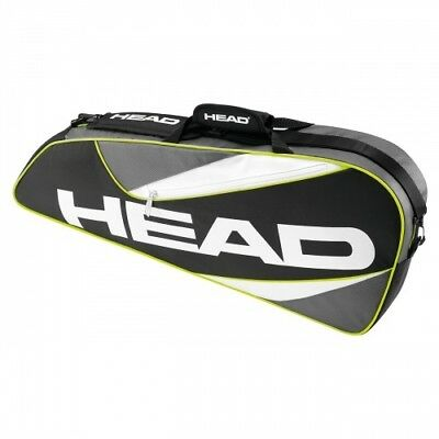 Head Elite 3R Pro Tennis Bag 3 Tennis Racquet Rackets Capacity