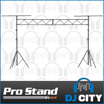 Lighting Truss Kit 3m Flat Truss Pro stand LSKIT 2 x Lighting Tripod with T-b...