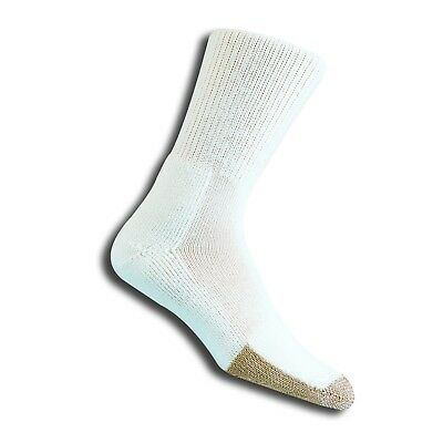 Thorlo Tennis Crew Socks Thick Cushion White Multiple Sizes Thorlo