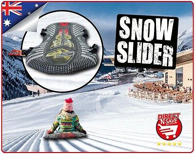 Snow Slider Board Sled Slide Toboggan Snowslider Downhill Ski Kids