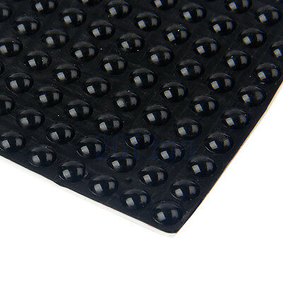 200 KITCHEN CABINET DOOR BUFFER PADS Adhesive rubber Feet Bumpers Stops Dots CG