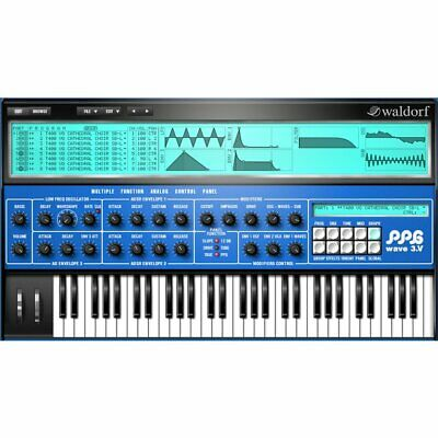 Waldorf PPG Wave 3.V VST Virtual Synthesizer Software