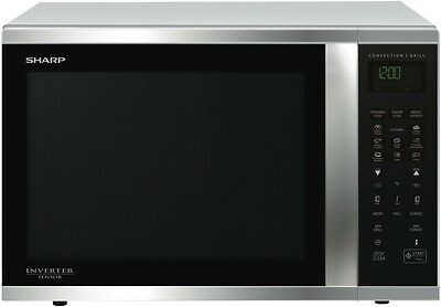 NEW Sharp R995DST 1000W Stainless Steel Convection Microwave