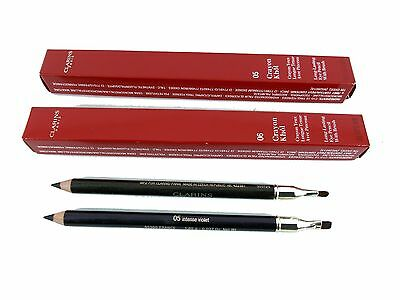 CLARINS crayon khol eye pencil with brush choose shade