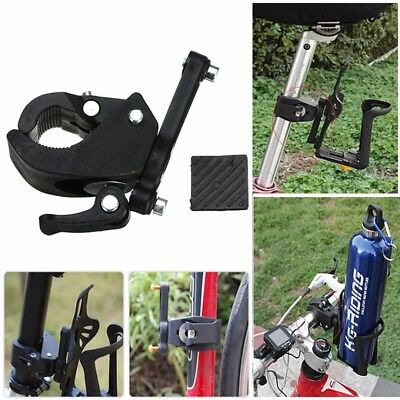 New Bike Cycling Handlebar Mount Water Bottle Cage Holder Rack Clamp