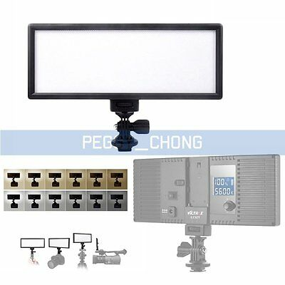 VILTROX L-132T Super Slim LED Light Panel 3300K-5600K LED Video Light【US】