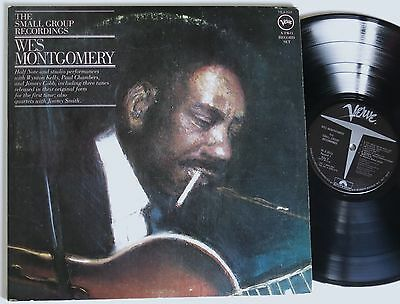 WES MONTGOMERY THE SMALL GROUP RECORDINGS US VERVE 2 LP MINT- unreleased!