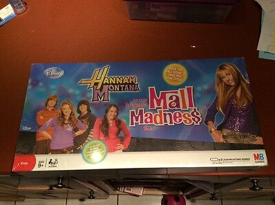 2 Games! Brand New! Hannah Montana Mall Madness & Learn To Be A Pop Star