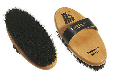 "William Leistner ""SCHIMMEL"" Horse Grooming Brush - Natural Coco Fibre Bristles"