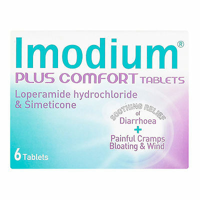 Imodium Plus for Diarrhoea and Wind  6 - Multi Quantity