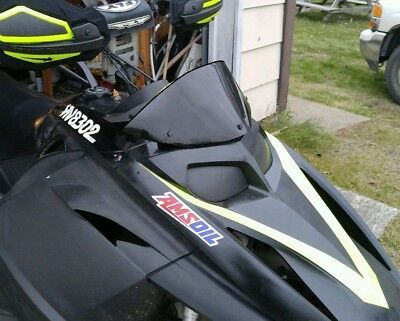 Ski-Doo Rev Low Black Windshield (Now available in Gloss Black)