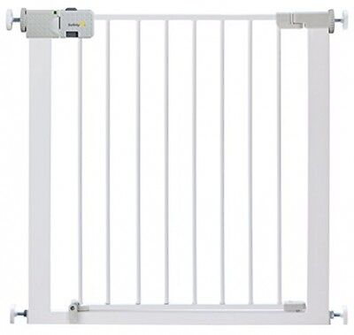 Safety 1st Secure Tech Simply Close Metal Gate Stair Pet Baby Visual Safety NEW