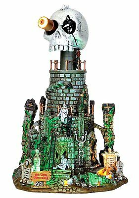 Lemax 45672 Mt. Gloom Observatory Spooky Town Building Halloween Decor