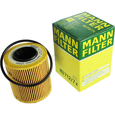 Original MANN-FILTER Ölfilter Oelfilter HU 712/7 x Oil Filter