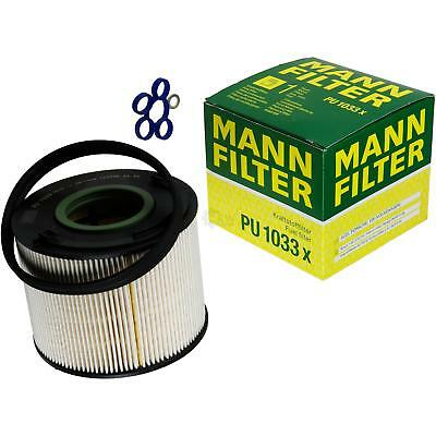 Original MANN-FILTER Kraftstofffilter PU 1033 x Fuel Filter