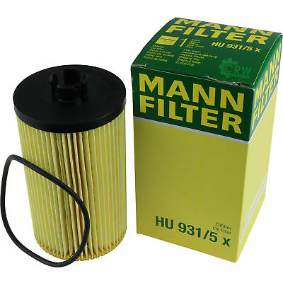 Original MANN-FILTER Ölfilter Oelfilter HU 931/5 x Oil Filter