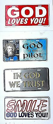 Christian / Jesus Religious Car License Plate Auto Tag Truck