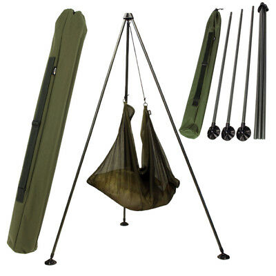 Ngt Carp Fishing Weighing Tripod With Bag Carry Case Carp Tackle.