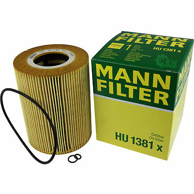 Original MANN-FILTER Ölfilter Oelfilter HU 1381 x Oil Filter