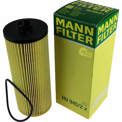 Original MANN-FILTER Ölfilter Oelfilter HU 945/2 x Oil Filter