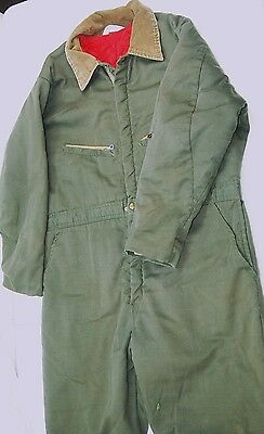 Key Imperial Men's XL 40 x 28 Insulated Coveralls  #H306