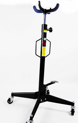 Vertical Telescopic Car Transmission Jack 500kg Hydraulic Motor Gearbox Lift old