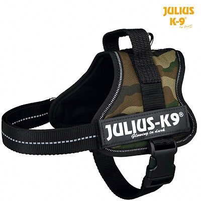 Pettorina Power Julius-K9® Nylon Resistente Colore Mimetico Militare